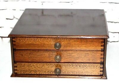 Vintage Watchmakers or Jewelers Cabinet - FREE Shipping [PL4357]