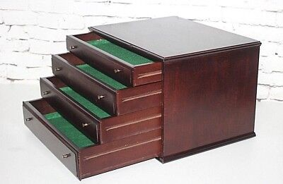 Vintage Watchmakers or Jewelers Cabinet - FREE Shipping [PL4355]