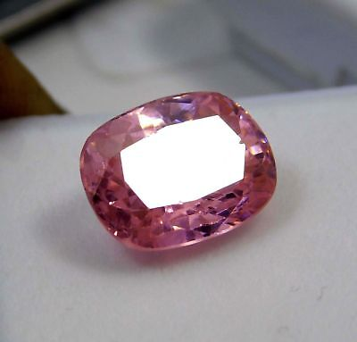 8.75Cts. Natural Oval Cut Translucent Pink Untreated Loose Kunzite Gemstone.