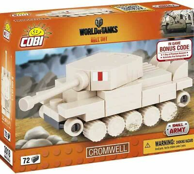 COBI NANO TANK CROMWELL Panzer Bausatz WWII Small Army World Of Tanks 72 Teile