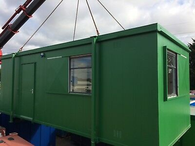 24 x10ft Site Office / Canteen / Portable Building / With Kitchen Unit  4000+VAT