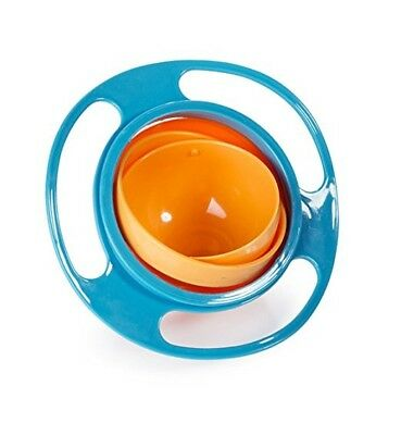 Enthusiastic Anti Spill Bowl Baby Kid 360 Degree Rotary Bowl Anti-spill Gravity Feeding Bowls Baby Cups, Dishes & Utensils