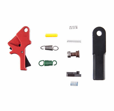 Apex Red S&W M&P Duty/Carry Flat Faced Forward Set Enhancement Trigger Kit