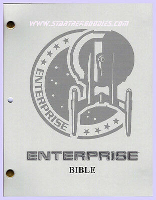 "ULTRA RARE Star Trek: Enterprise ""BIBLE"" for Writers, Directors, etc. MINT!"