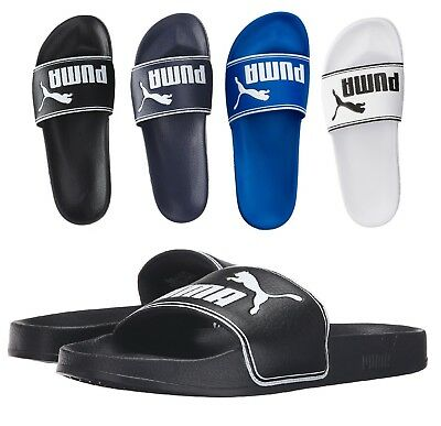 e4349aecd4ff NEW Puma Men s Leadcat Logo Fashion Shoes Slip On Slide Sandals Many Colors
