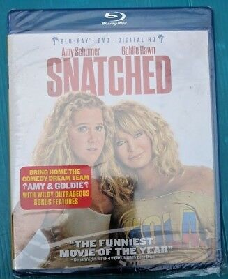 Snatched movie Blu-ray/DVD NO DIGITAL BLUERAY bluray & slip EXCELLENT FREE SHIP