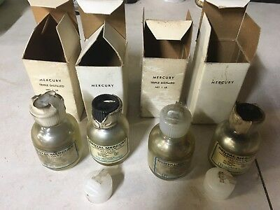 Vintage dental Mercury Litton dental products 4lbs.  New old stock