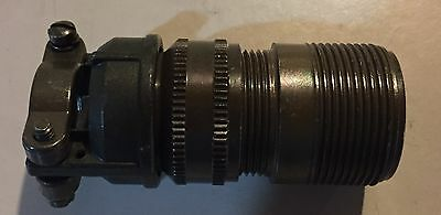 Amphenol Connector 97-3106A-18-12S With Wire Clamp