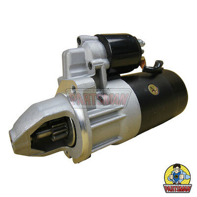 New Starter Motor Mercedes Benz C Class W202 1.8L 2.0L 2.3L 2.6L Pet & 2.5L Dsl
