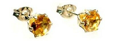 2 Antique 19thC ½ct Scotland Citrine Ancient Roman Healing God Apollo Aesclepius