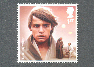 Star Wars-Luke Skywalker mnh single-Great Britain-Cinema-