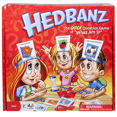NEW Hedbanz Board Game Adult Quick Question Game Toy Family Party Funny Gift