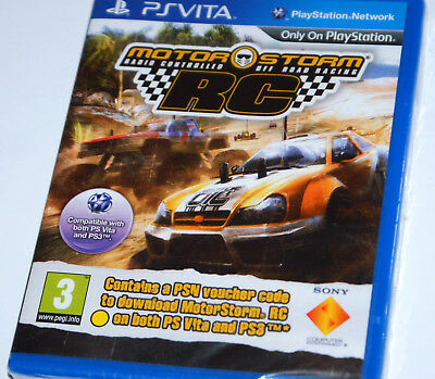 MotorStorm RC Ps Vita only box with voucher (expired) on PSN Rare *BRAND NEW*