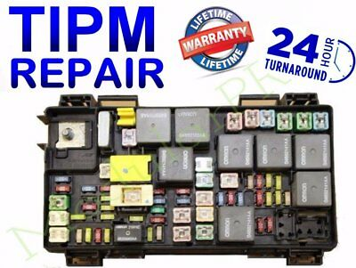 2010 chrysler town&country tipm fuel pump relay repair/replacement service