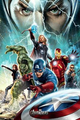 The Avengers : Power - Maxi Poster 61cm x 91.5cm new and sealed