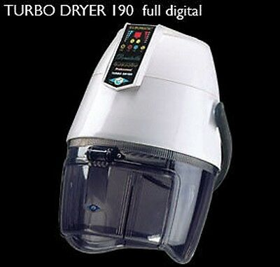 Professional Ion's Hairdryer Digital Turbo Dryer 190 Hairstylist New