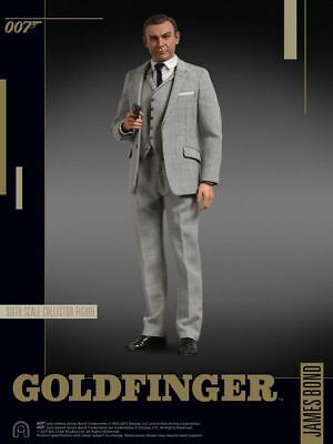 007 James Bond Goldfinger Collector Series Action Figure 1/6 Sean Connery 30cm