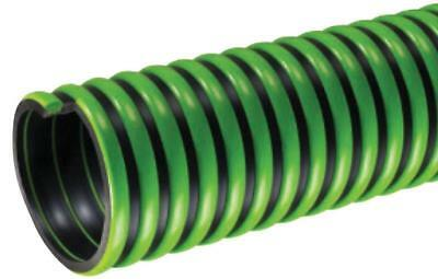 "KURIYAMA TigerFlex 1""x100' Green Septic & Water Suction Hose TG100X100 - Green"