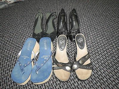 Lot of 4 size 7 women's shoes