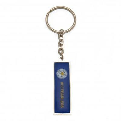 Leicester City FC Keyring #BeFearless Football Club Fan Player Supporter PRESENT