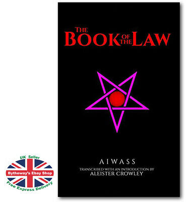 The Book of the Law Aiwass Aleister Crowley (Paperback) *BRAND NEW*
