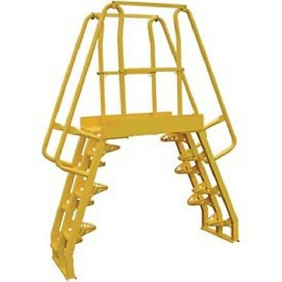 NEW! Alternating Step Cross-Over Ladders-4 Step-COLA-2-56-44!!