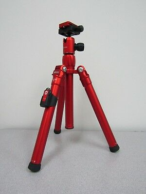 MeFOTO RTAIRRED RoadTrip Air Travel Tripod (Red) - Max Load 13.2 lb (5.9 kg)