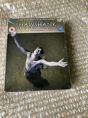 The Shawshank Redemption Collectors Edition Blu-Ray Steelbook  New OOP OOS Rare