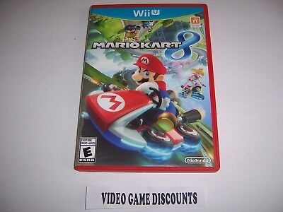 Mario Kart 8 For Wiiu Wii U Instructions Manual Booklet No Game