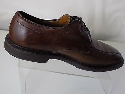 89374cb7c61 BOSTONIAN IRON AGE Steel Toe Brown Leather Oxfords Made In USA ...