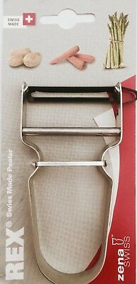 REX SWISS POTATO VEGETABLE PEELER  Made in Switzerland. Guaranteed Quality