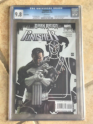 THE PUNISHER #2 cgc 9.8 DARK REIGN - Vs. Norman Osborn and The Hood - VARIANT