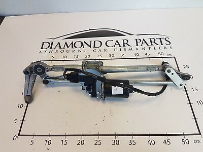 2007 Bmw 3 Series Front Wiper Motor And Linkage 697826401 A483
