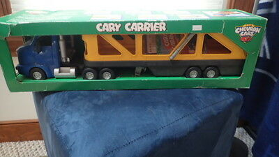 "CHEVRON CARS CARRIER ""CARY CARRIER"" BRAND NEW IN BOX WITH OWNER MANUAL NRFB Toy"