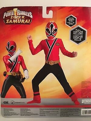 Power Rangers Super Samurai Red Ranger Samurai. 2 Piece Costume. Fits Sizes 4- & POWER RANGERS SUPER Samurai Red Ranger Samurai. 2 Piece Costume ...