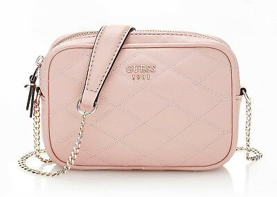 Guess PENELOPE MINI CROSSBODY TOP Borsa a tracolla rose