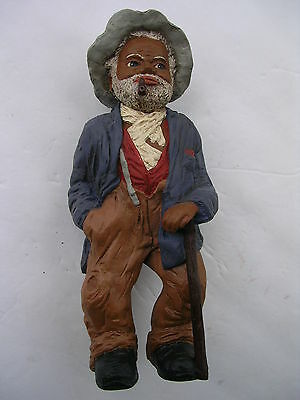 "MARTHA HOLCOMBE-ROOT All Gods Children #100-SIGNED UNCLE BUD (8 1/2"" TALL) 1303"