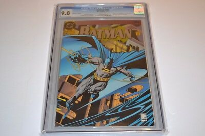 Batman #500 Cgc 9.8 Wp Collector´s Edition Doug Moench Story Knightfall Part 19