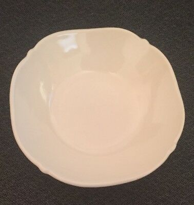 Jcpenney Home Collection Isabella Ivory Bowl - Embossed Leaves