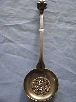 Antique Sommelier Spoon Wine Tasting Baucus & Medusa Continental Silver