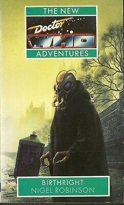 OOP Paperback Book - DOCTOR WHO - BIRTHRIGHT - Nigel Robinson - 1993 - Virgin