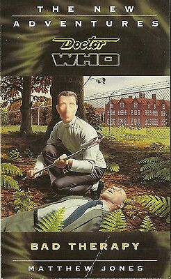 OOP Paperback Book - DOCTOR WHO - BAD THERAPY - Matthew Jones -- 1996 - Virgin