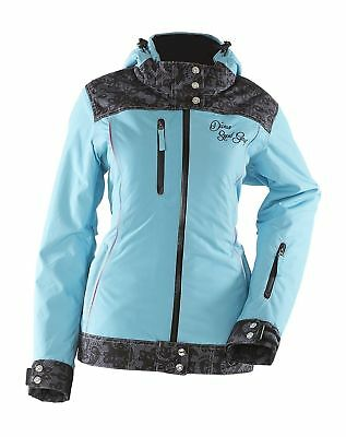 Divas SnowGear Women's Lace Collection Jacket Blue (XS) (FREE SHIPPING)