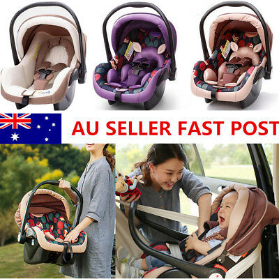 Newborn Baby Infant Chair Kids Car Seat Baby Cradle Basket Safety Portable Hand