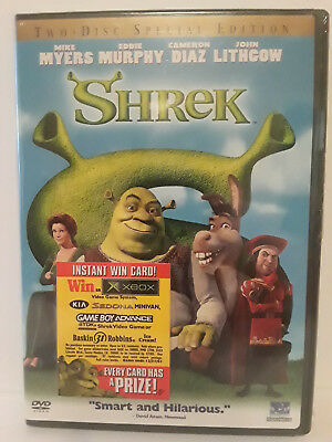 Shrek (Two-Disc Special Edition) DVD 2001 - BRAND NEW