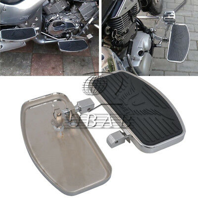 Motorcycle Driver Front Footboards Floorboards Eagle Pattern For Honda ACE 1100