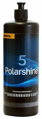Mirka Polarshine 5 Mittelfeine Polishing 1000 ML to Refresher v. Mats Surface
