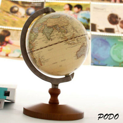 New Vintage Work Decor World Globe Wedding Educational Model Reference
