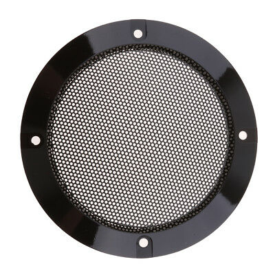 "4"" Speaker Decorative Circle SubWoofer Grill Cover Guard Protector Mesh"