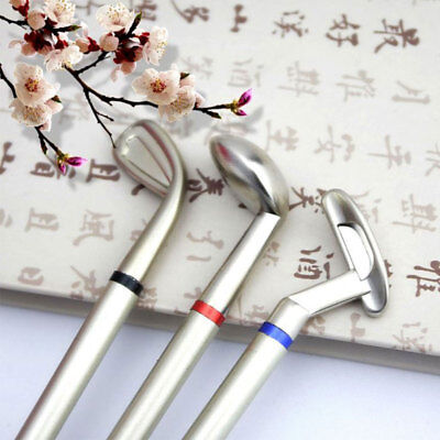 3 Mini Golf Club Putter Pen Set Box Novelty Golfers Decor Gift Golf Present